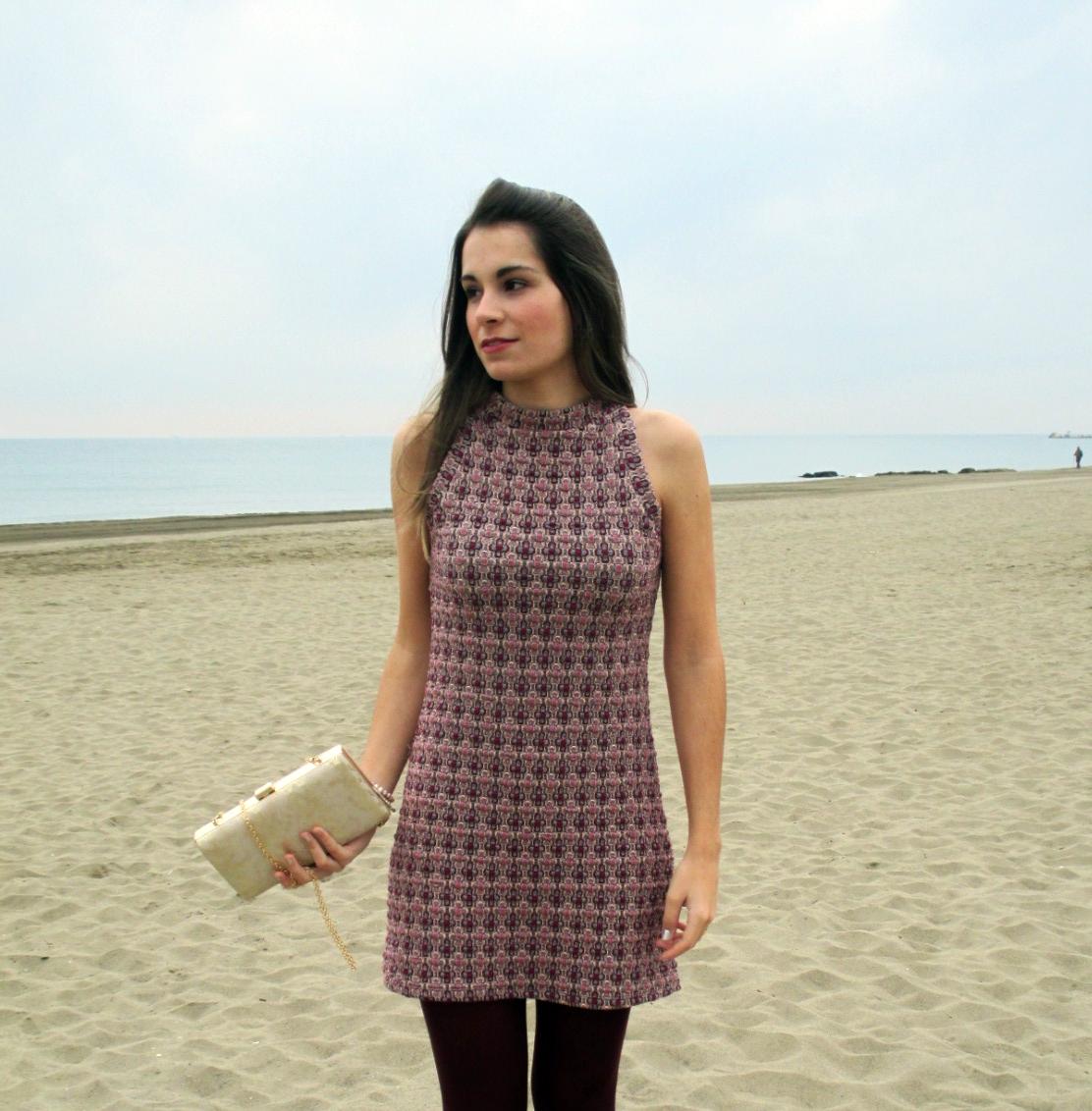 Outfit Zara Granate