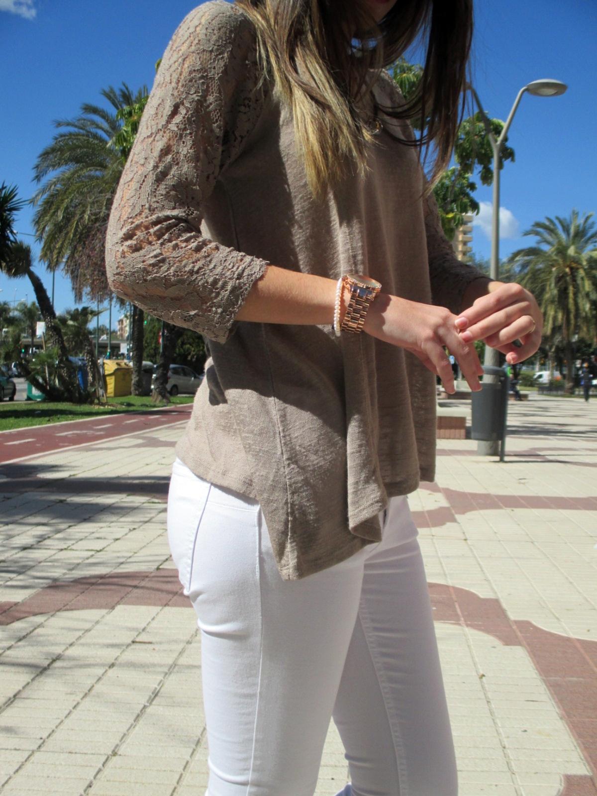 Look blanco&camel