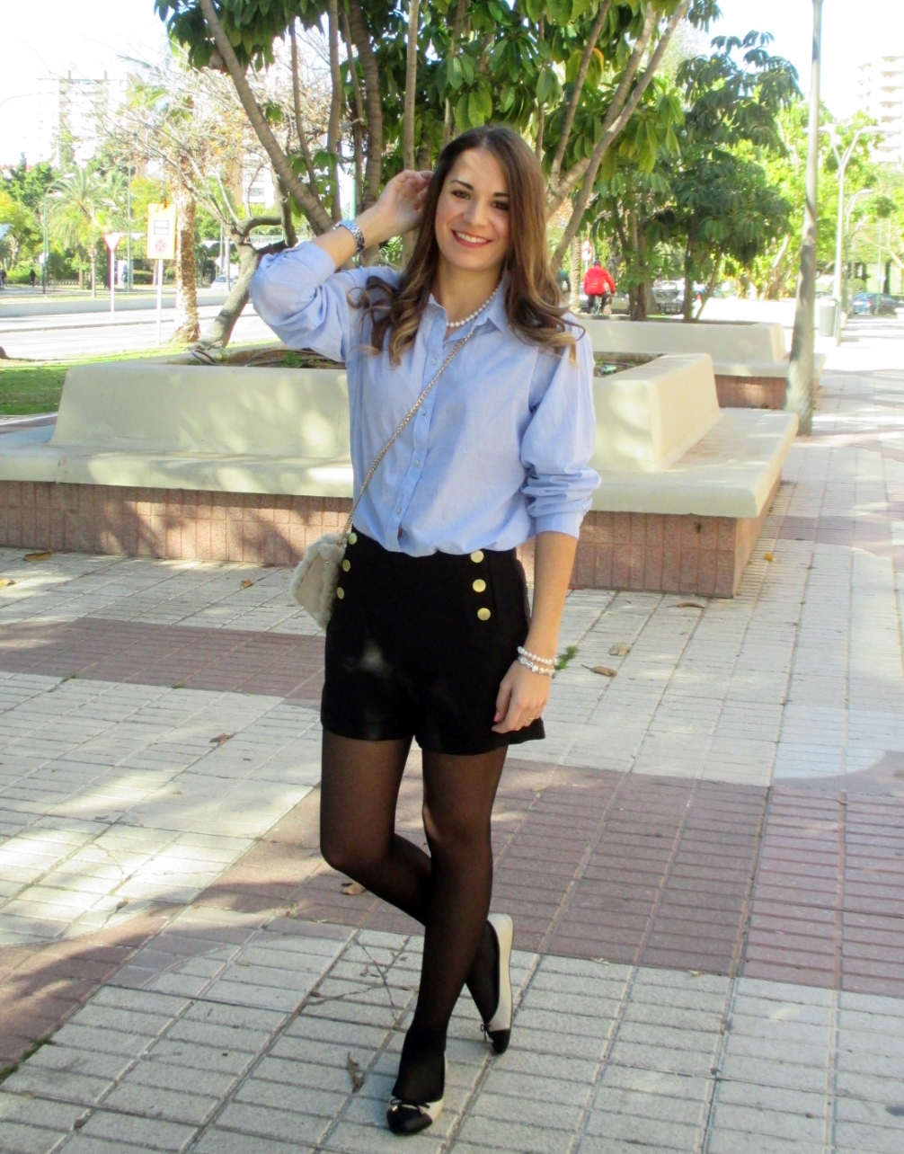Blue&Black outfit
