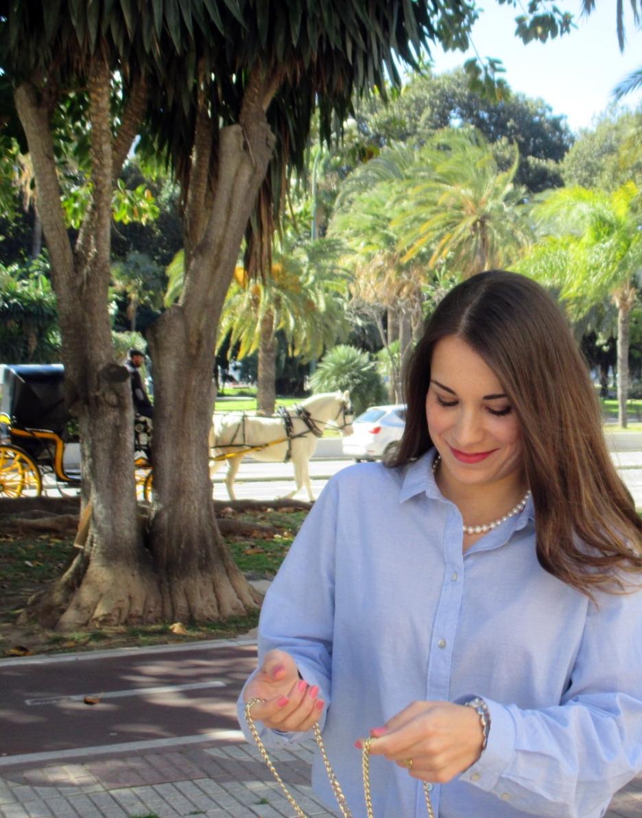 Blue&Black outfit Estefanía Martínez Reñón